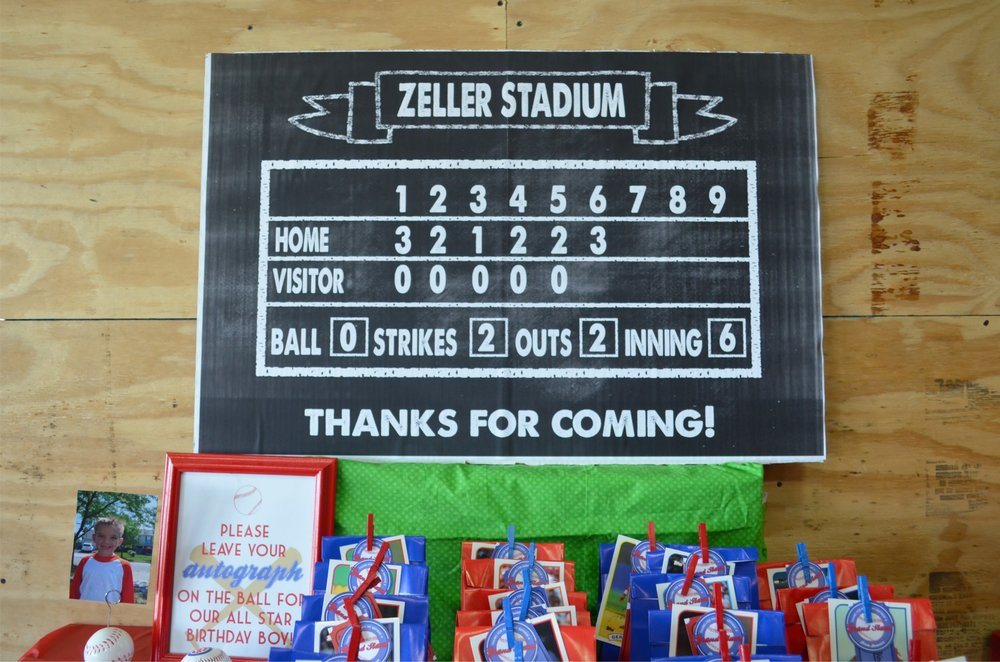 Amazing Baseball Party! NestlingDesign.com