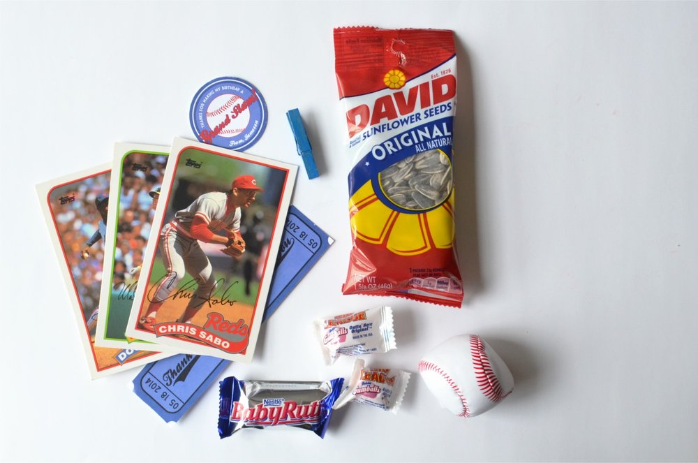 Amazing Baseball Party! Baseball Party Favors NestlingDesign.com