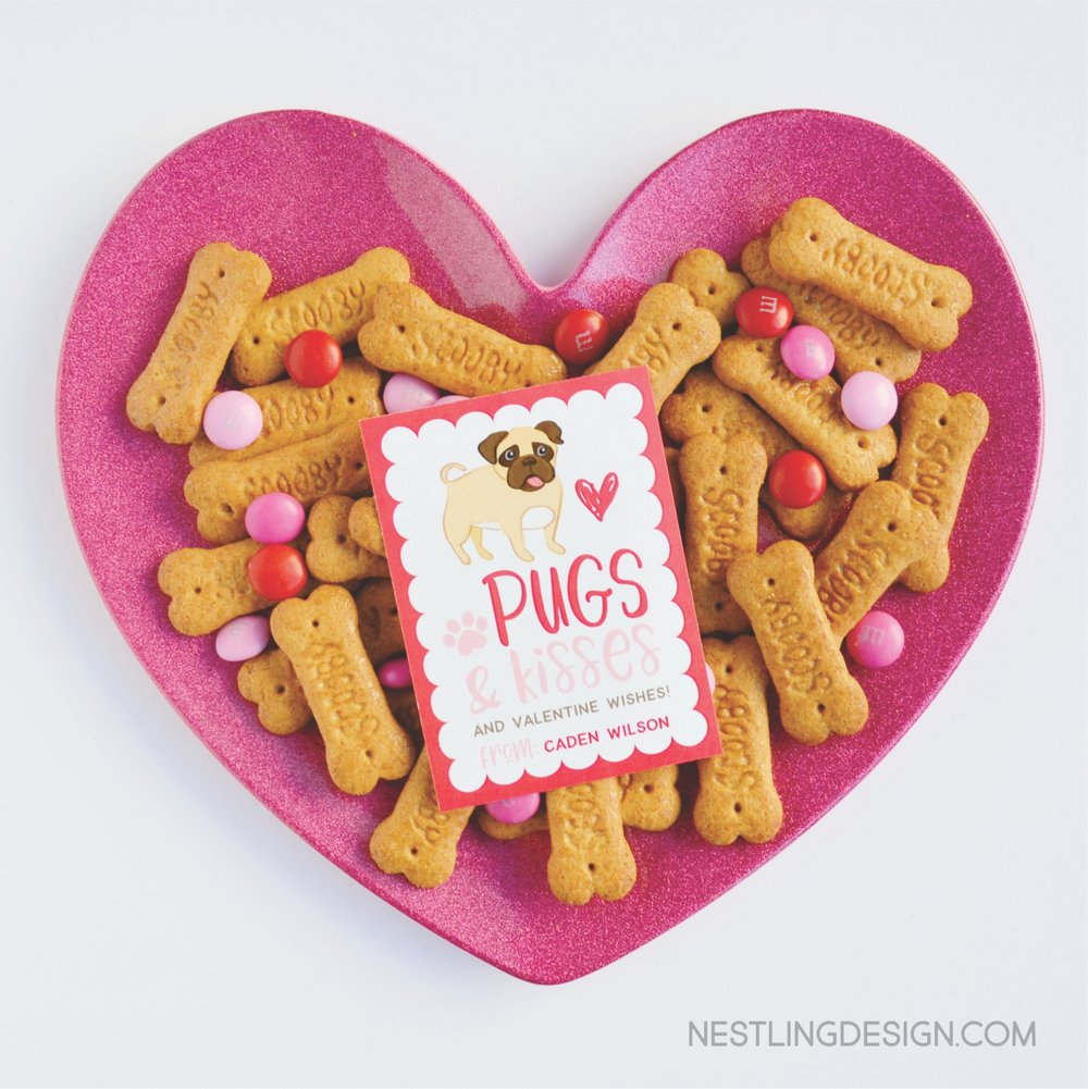 Adorable valentines for children | NestlingDesign.com