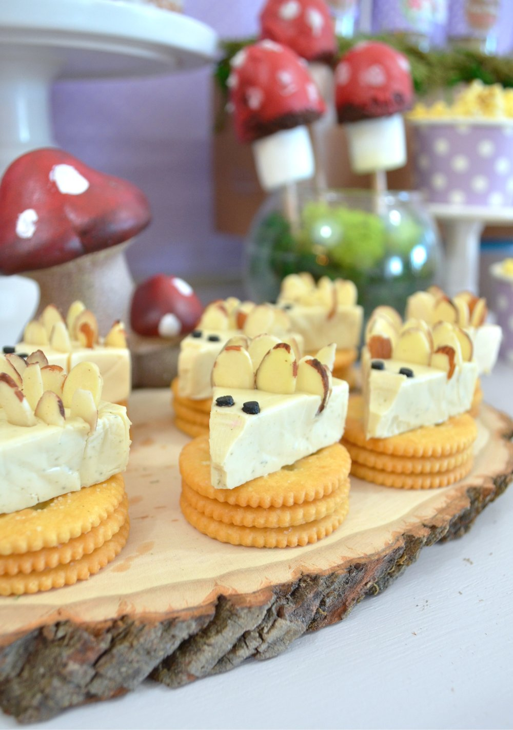 Woodland Hedgehog Party