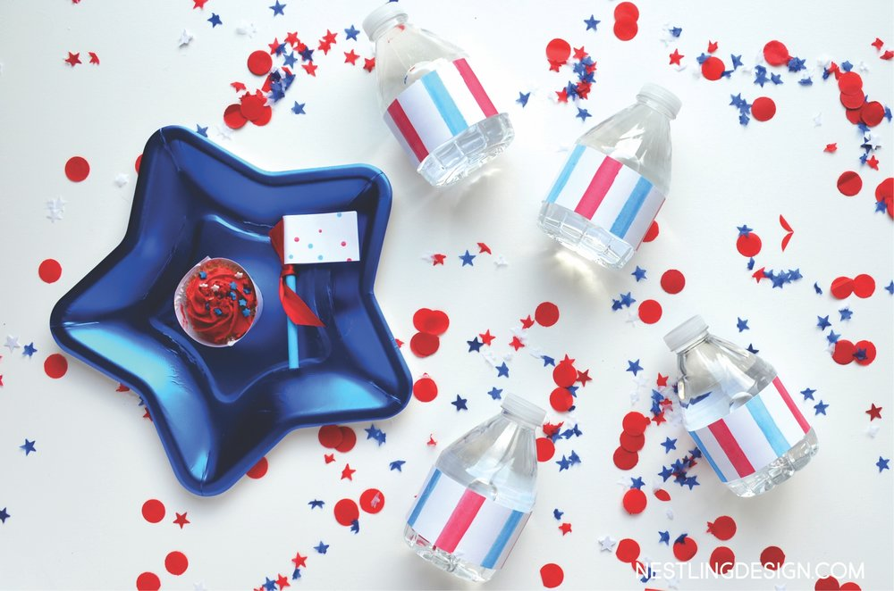 Patriotic Birthday Party | NestlingDesign.com