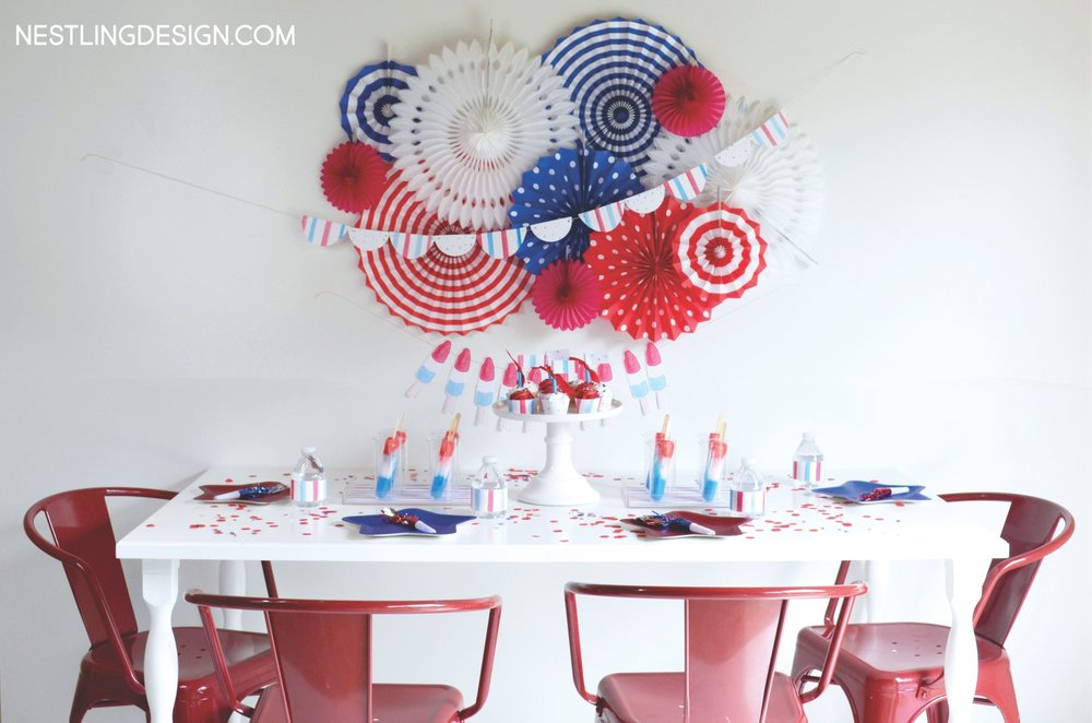 Patriotic Birthday Party