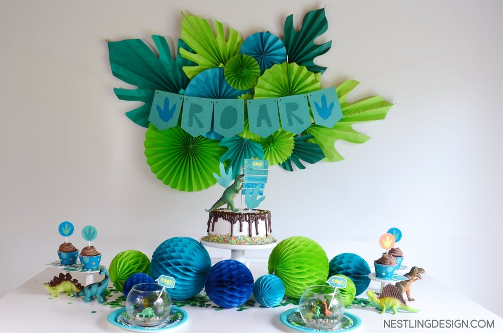 Dinosaur Party | Nestling Design