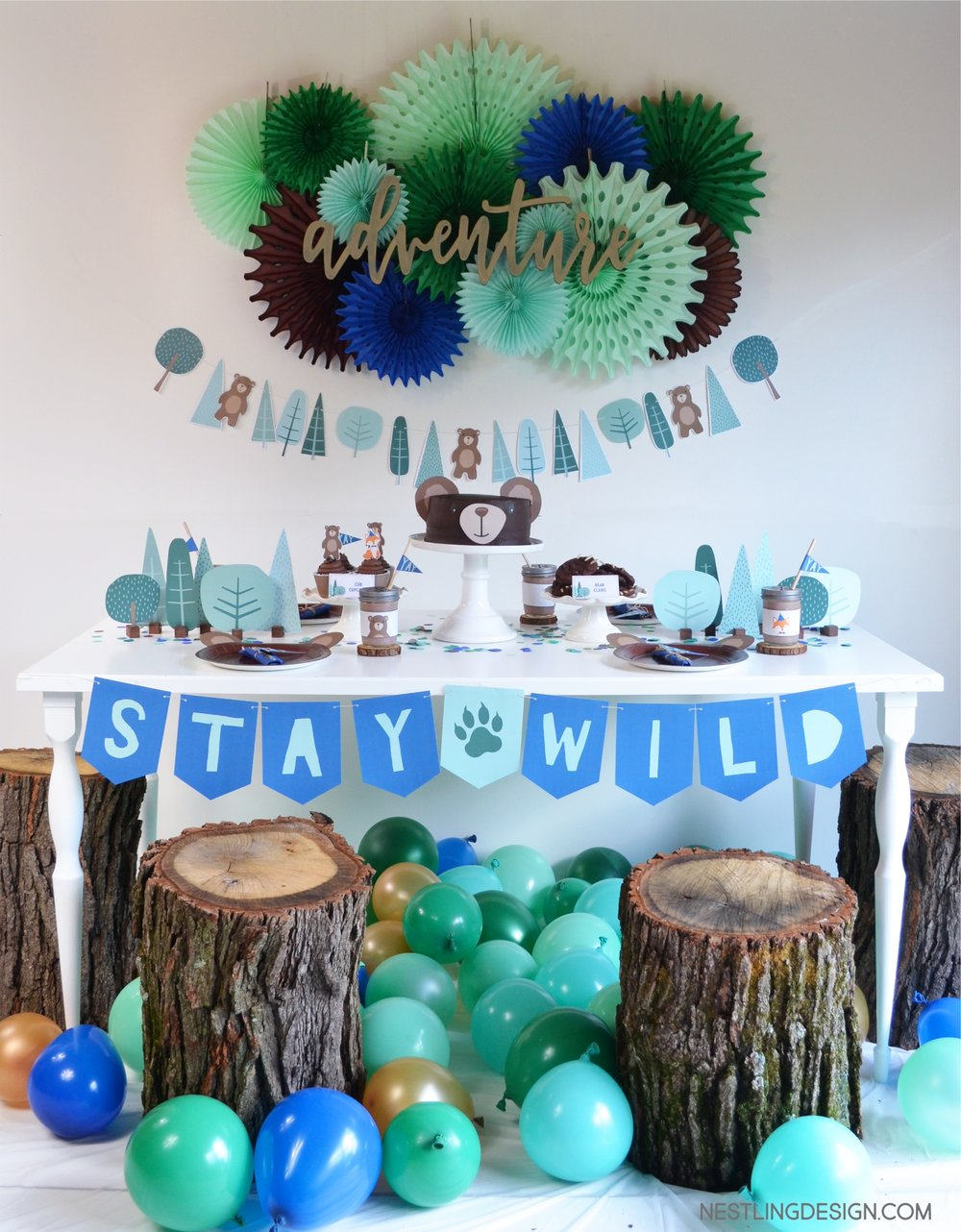 Wild One Bear Party
