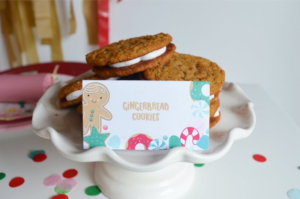 Gingerbread Christmas Party | NestlingDesign.com