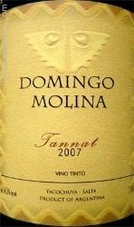 Domingo Molina 2007 Mendoza Tannat.jpg