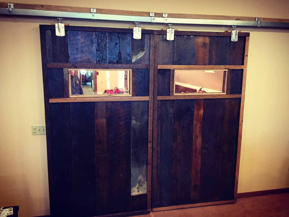 barn wood doors