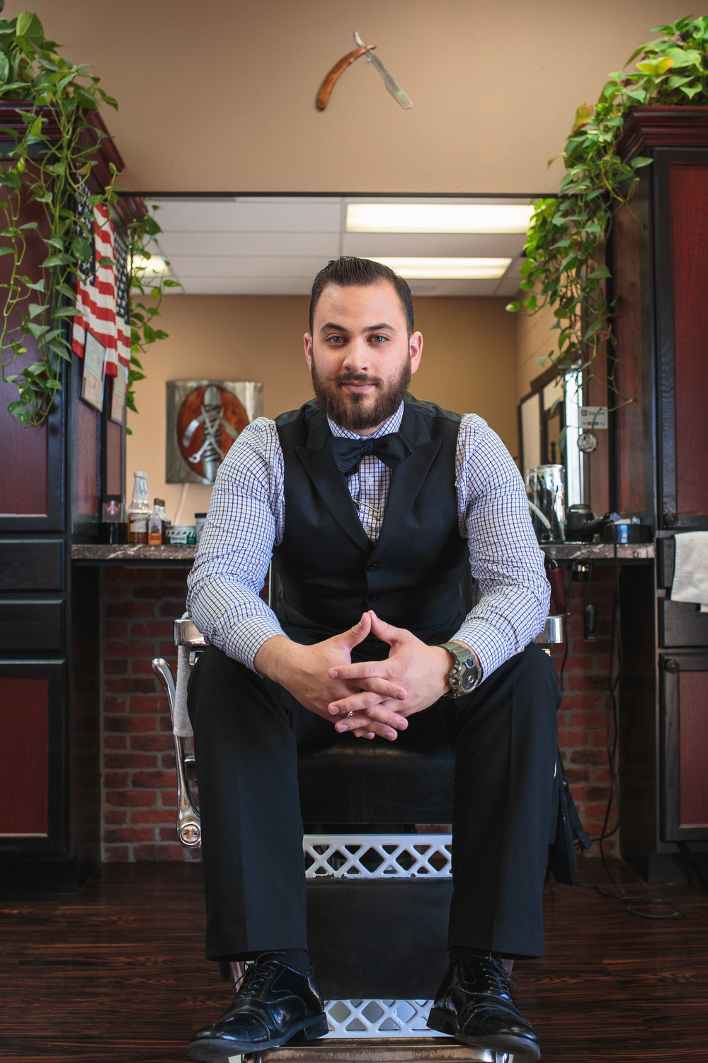 Barber Portrait Social Media Photography St George Utah