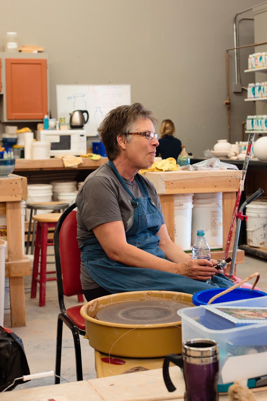 Artist Portrait Pottery Studio St George Utah