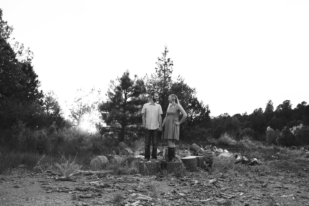 Black and white hybrid photographer couple Utah