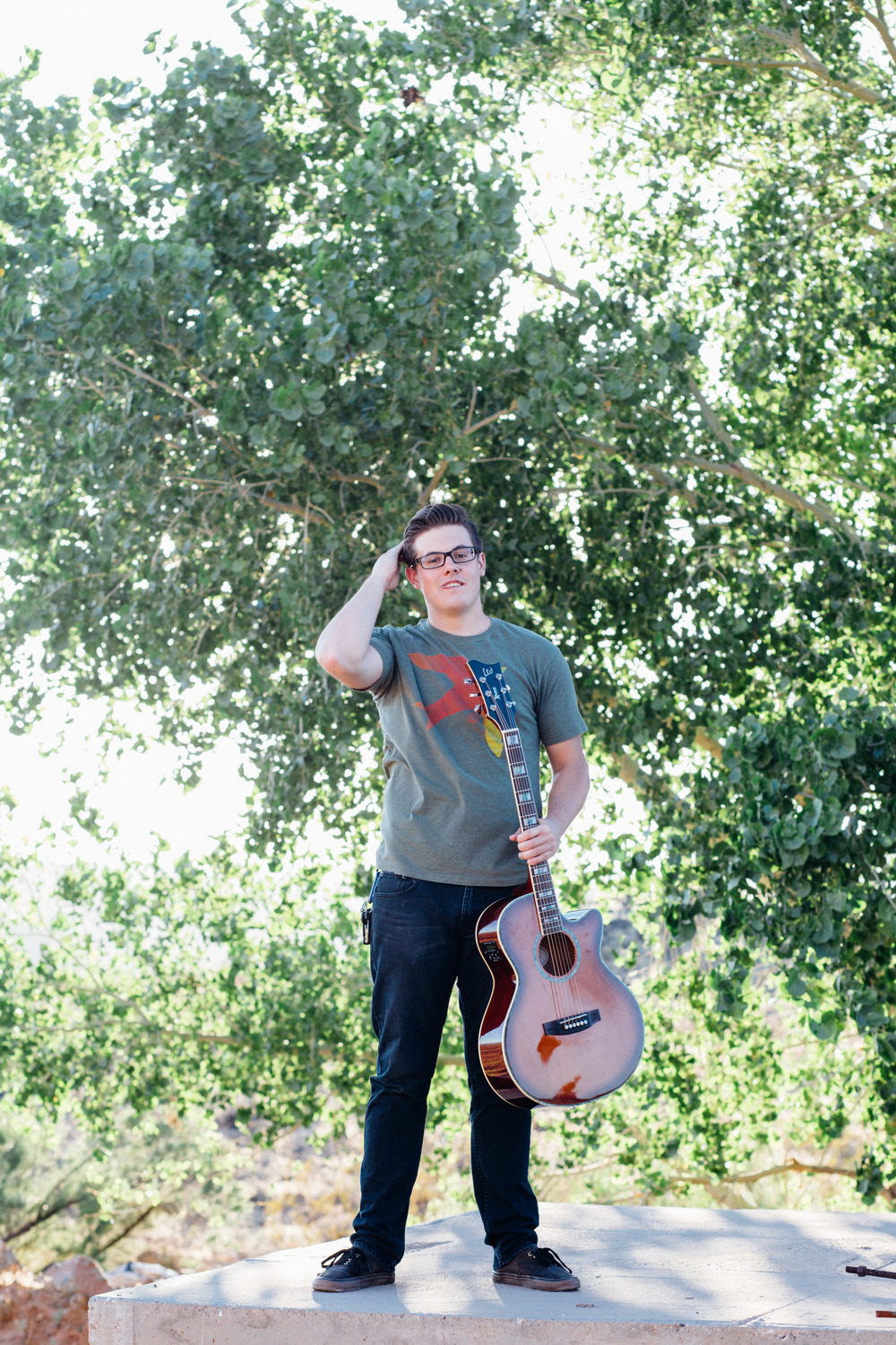 Musician singer songwriter portrait album photographer