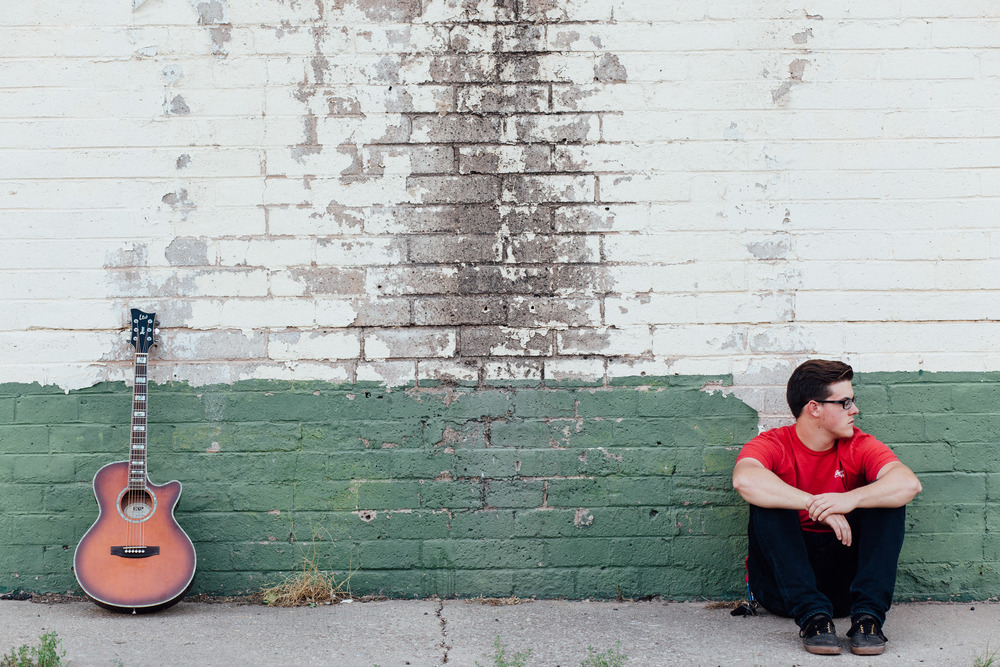 Urban decay singer-songwriter photographer Southern Utah