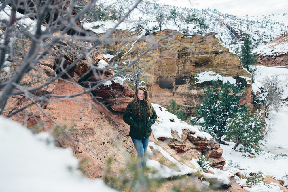 Zion National Park Adventure Photographer