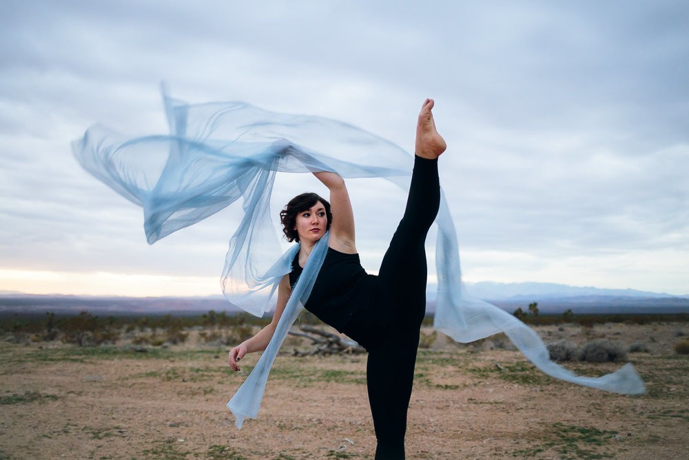 Silk dancer lifestyle Southern Utah Adventure photographer hybrid film and digital