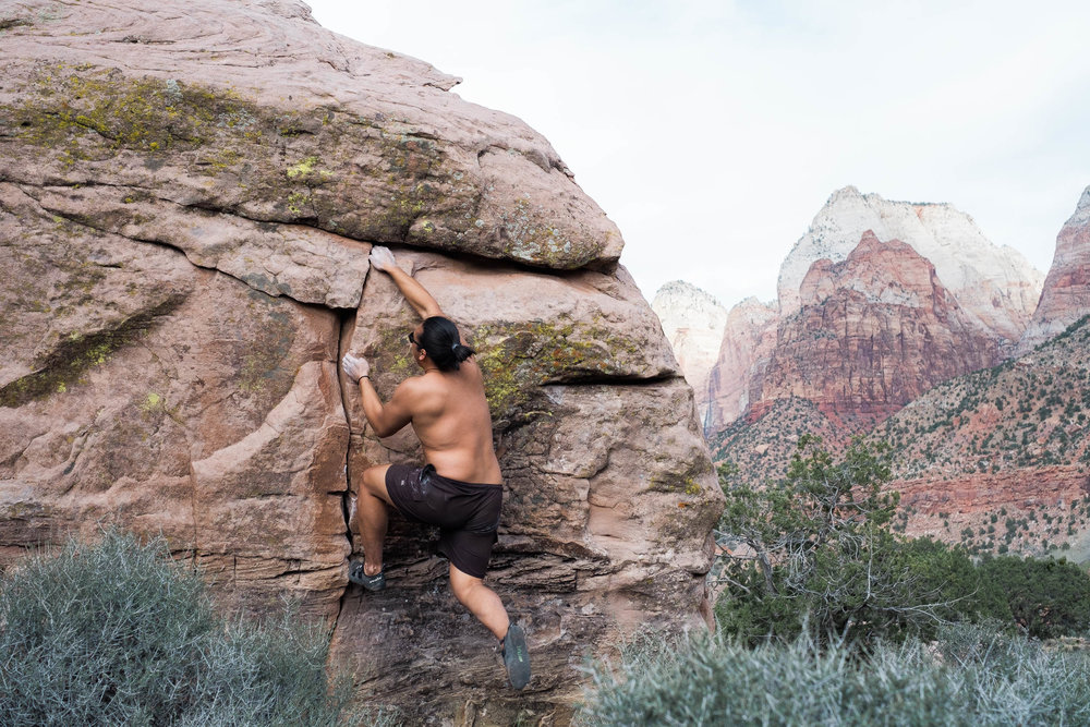 Southern Utah Bouldering
