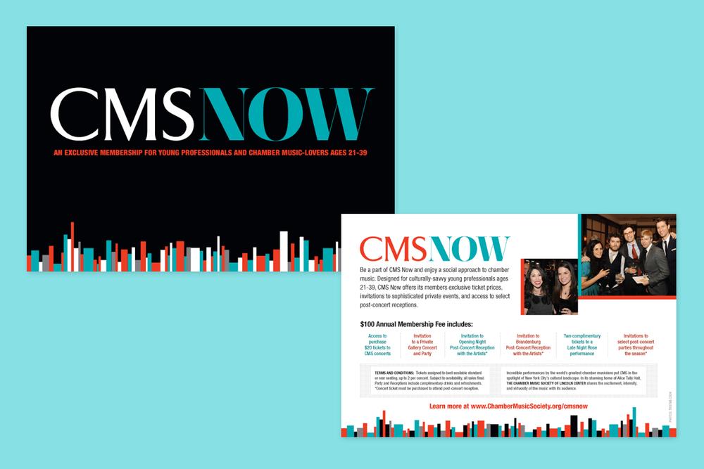 CMSNow Visual Identity + Postcard
