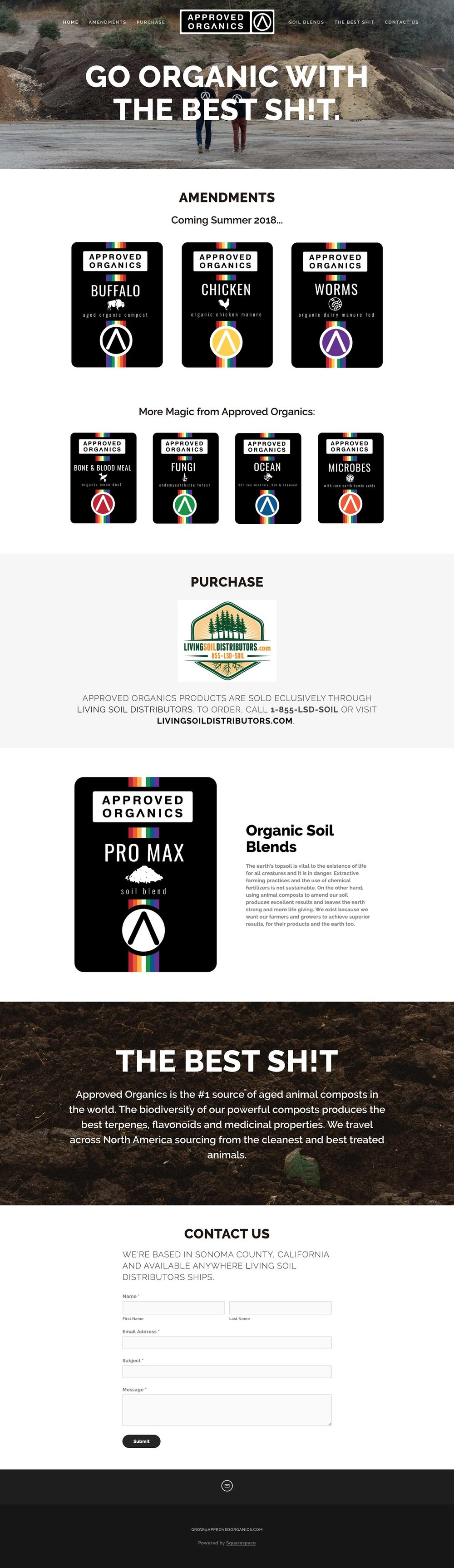 Approved Organics