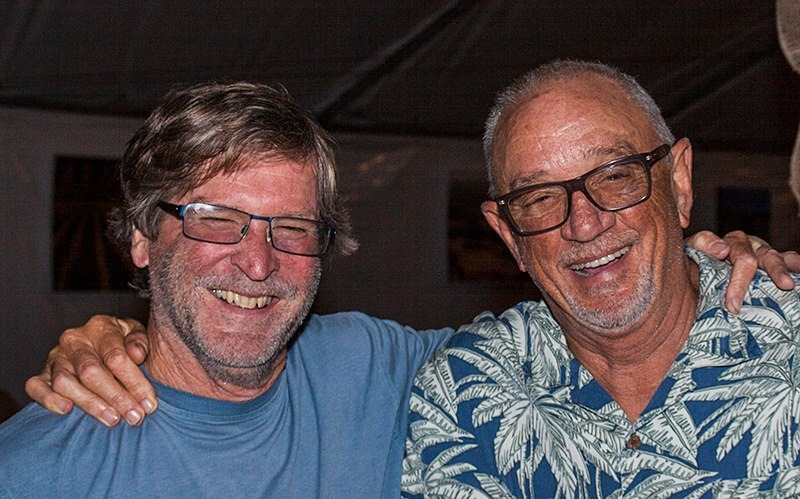 Bill Wathan & Dick Doré of Foxen Vineyards