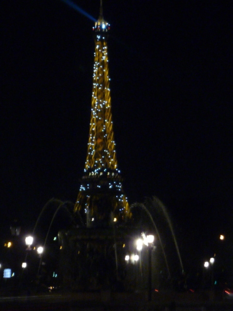Le Tour Eiffel, always spectacular