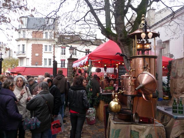 Marchédu Noël, Montmartre