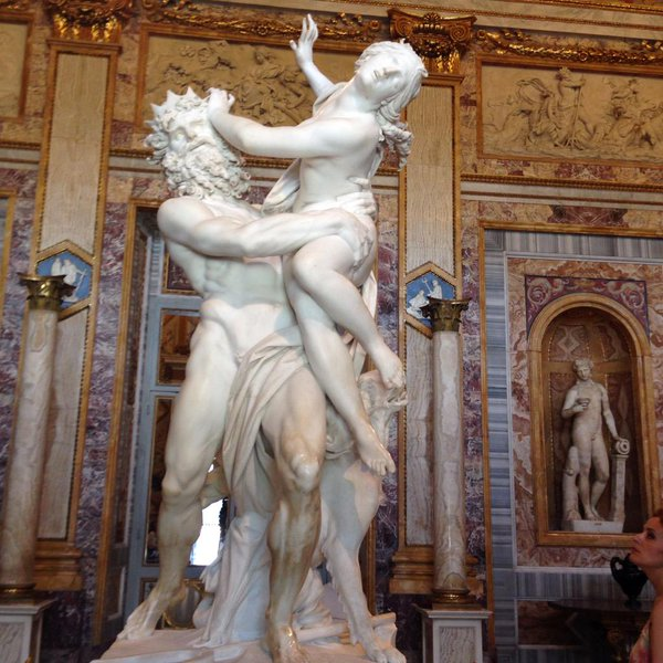 Hades abduction of persephone by bernini