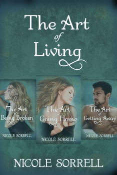 The Art of Living series, The Art of Going Home, The Art of Being Broken, The Art of Getting Away