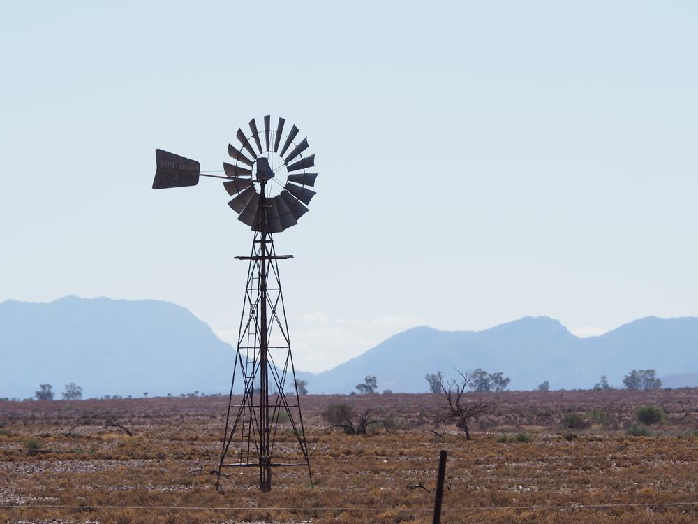 Windmill, Flinders Ranges