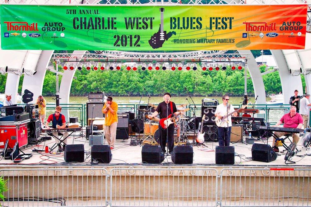 Charlie West Blues Festival 5/19/12