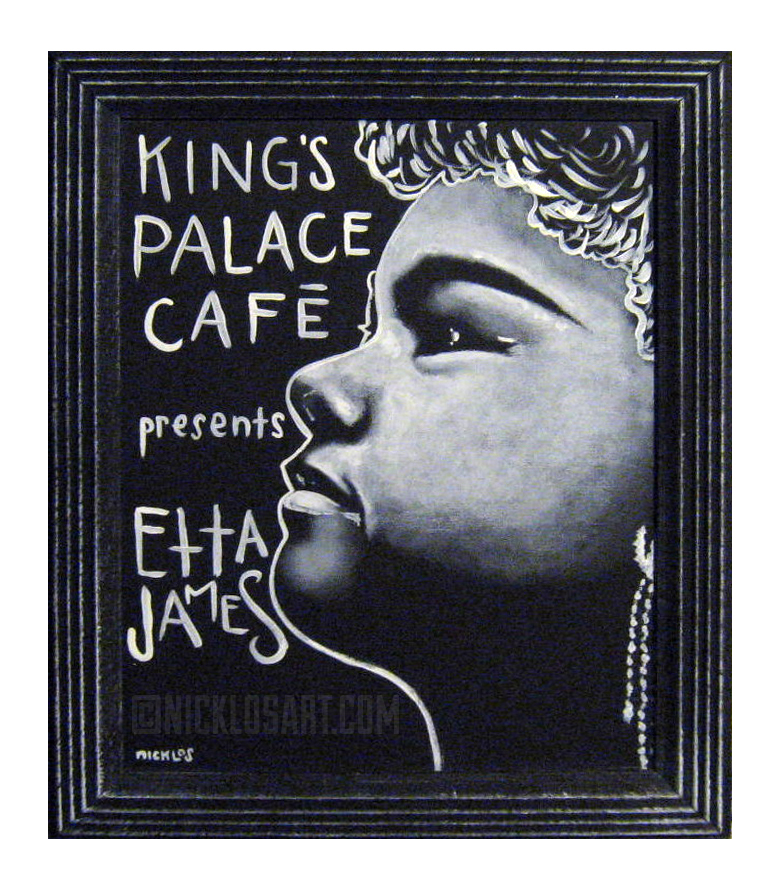 Etta James Folk Art