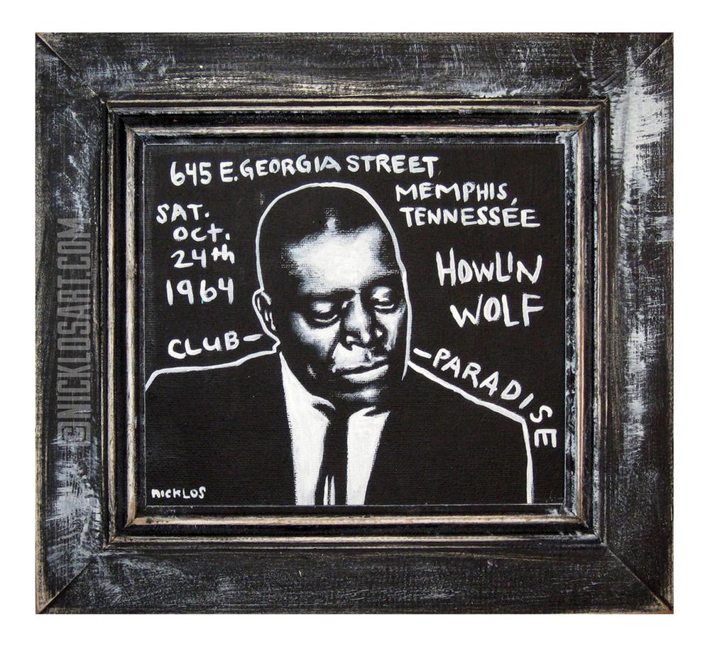 Howlin' Wolf Folk Art