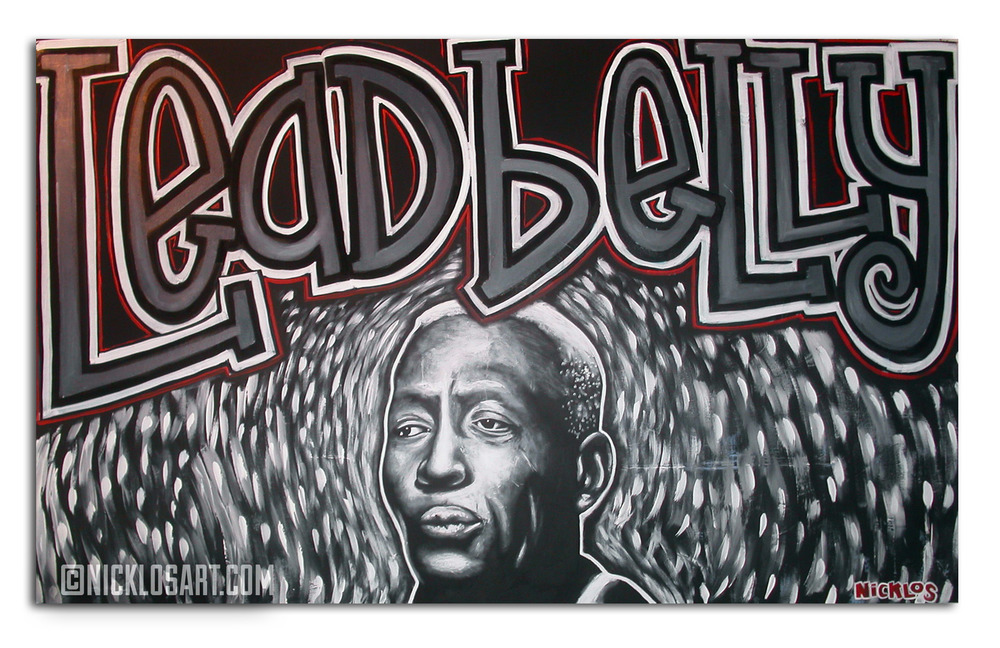 Leadbelly Folk Art