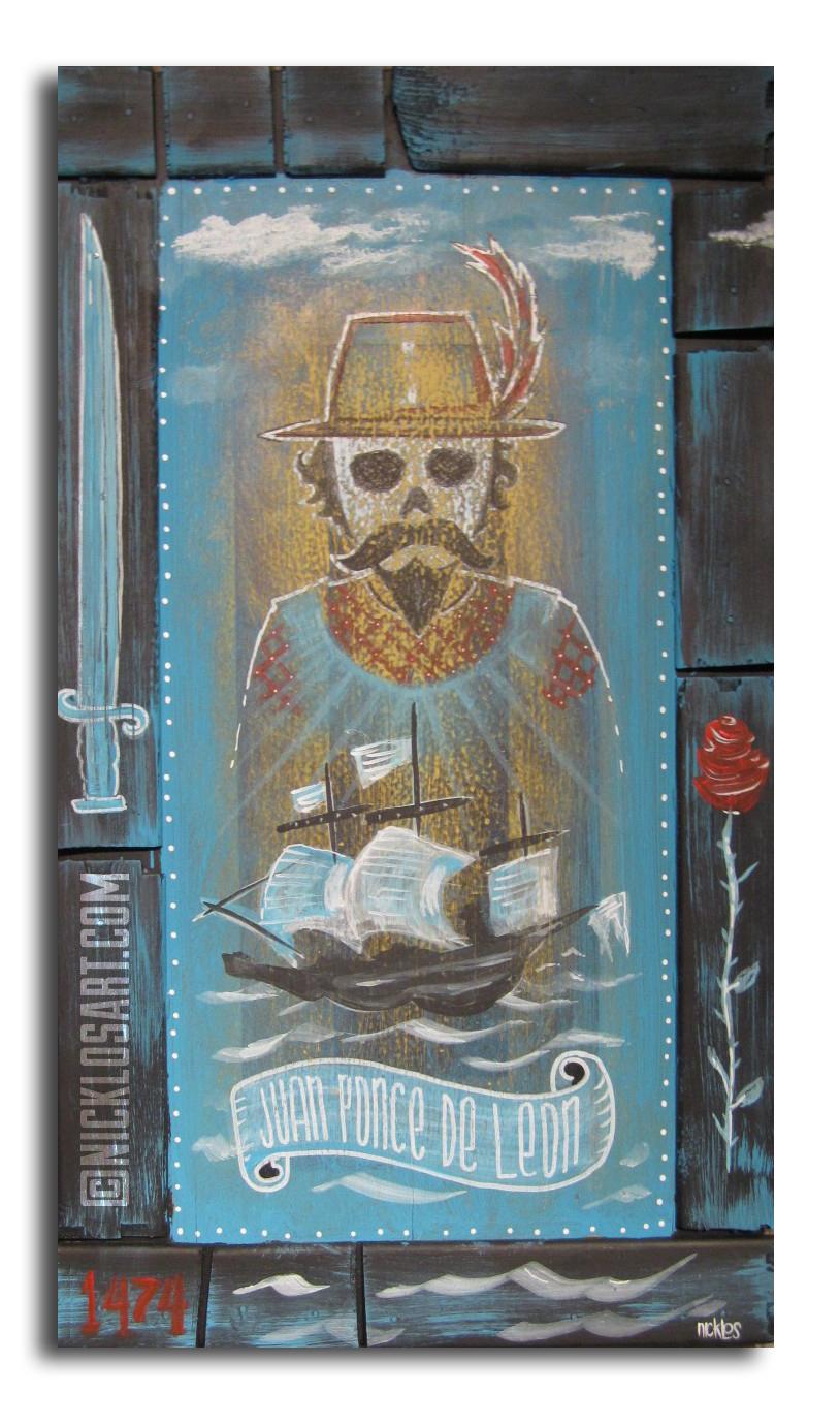 Ponce De Leon Folk Art
