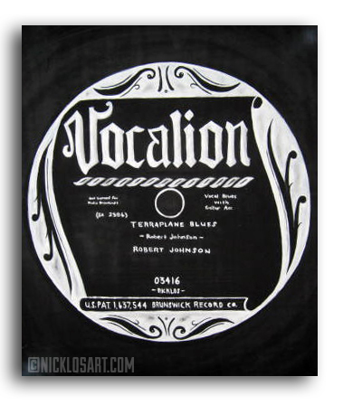 Vocalion Vinyl Folk Art