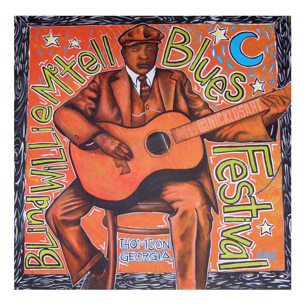 Blind Willie Folk Art