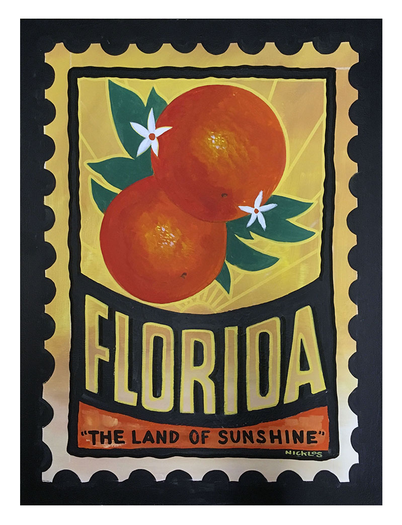 Florida Postage Stamp