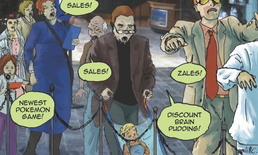 Sales slave