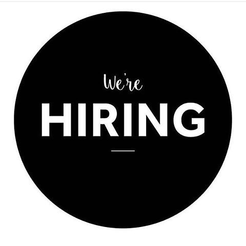 KAHVE is hiring. We are looking for a coffee enthusiast. DM to let us know who you are! #hiring #coffeeenthusiast #teamplayer