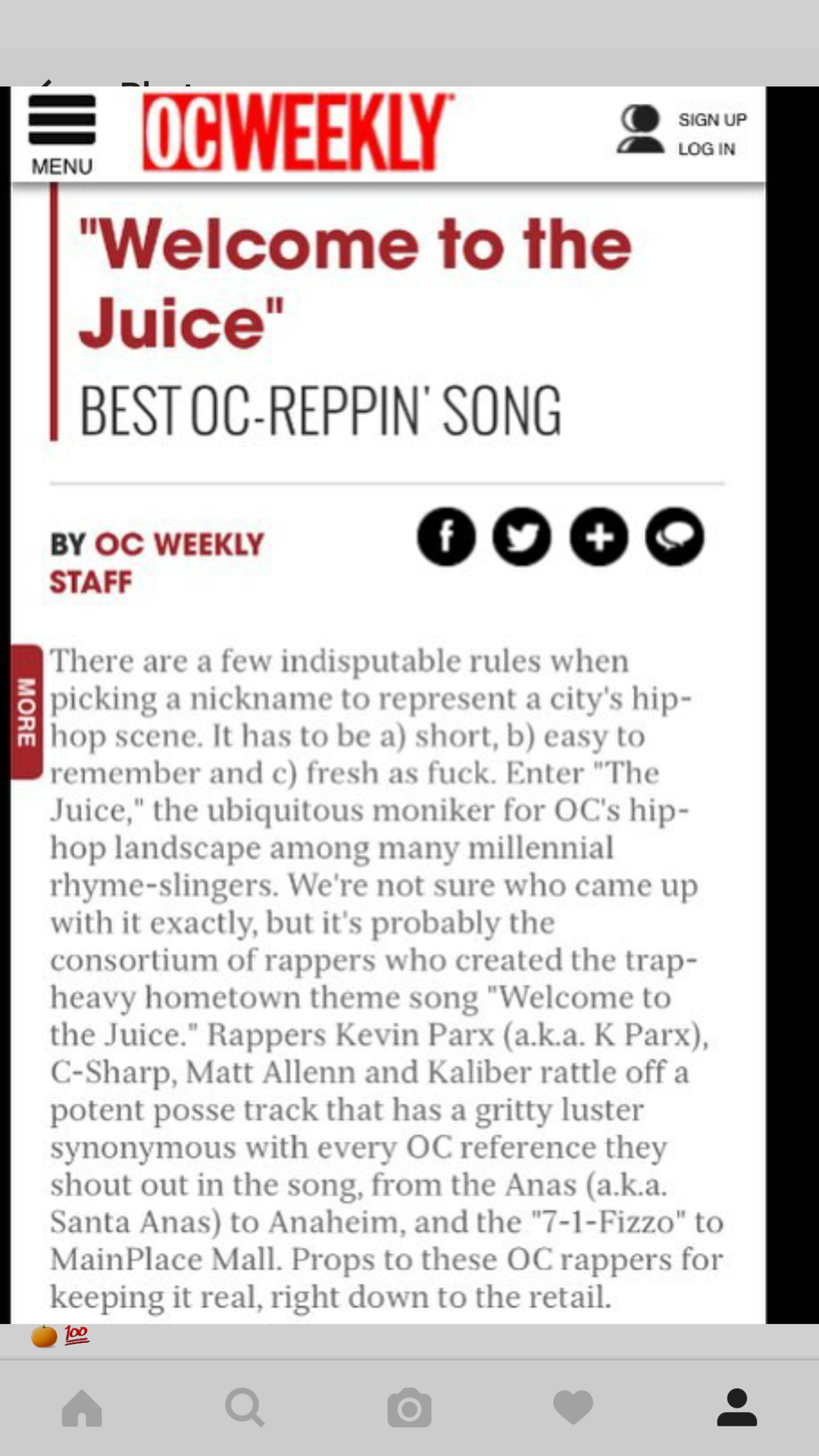 BEST OF OC REPPIN SONG