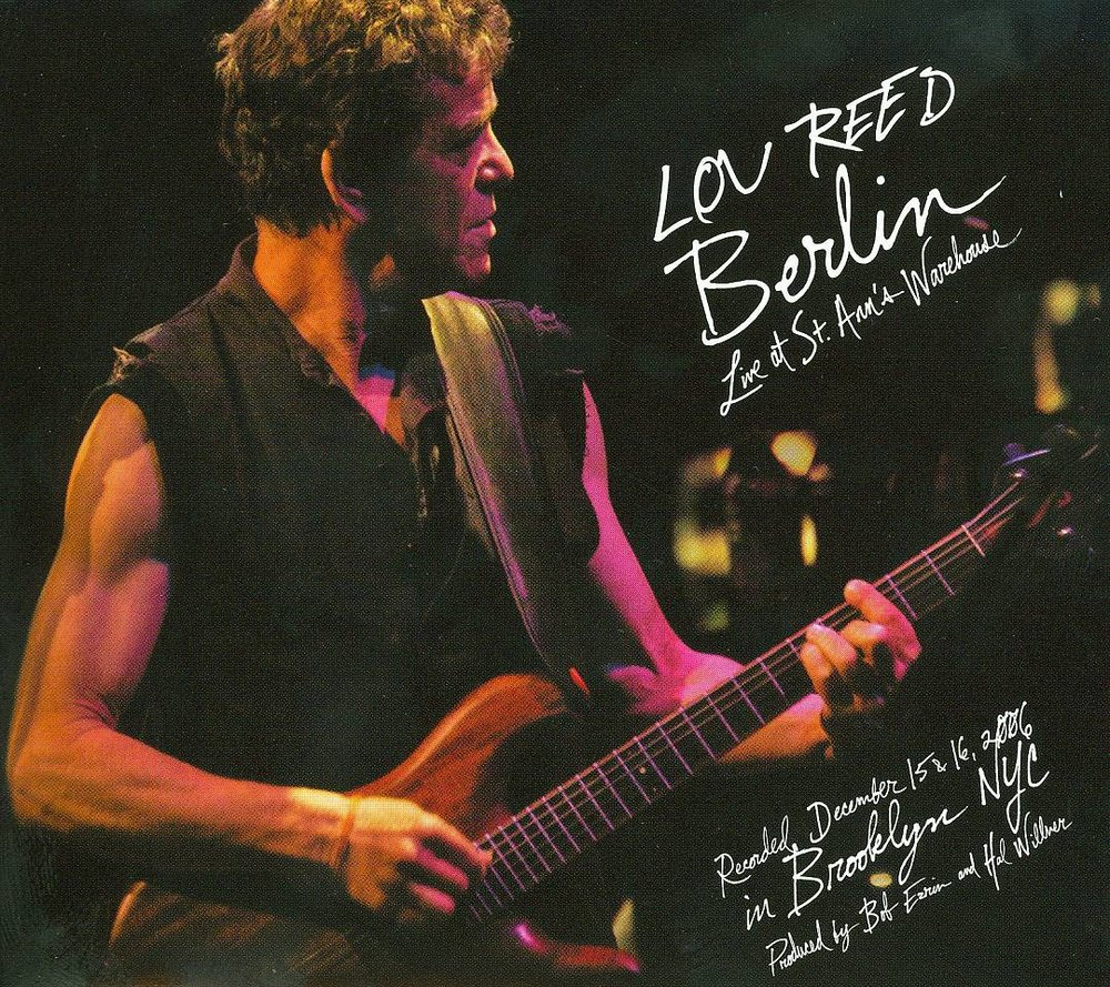 Lou Reed – Berlin: Live at St. Ann's Warehouse, 2008 (Pop/Rock) / Label – Matador  Performer