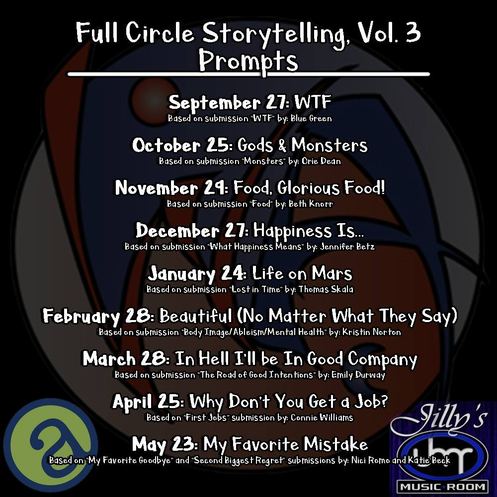 Full Circle - Volume 3 begins on September 27th!