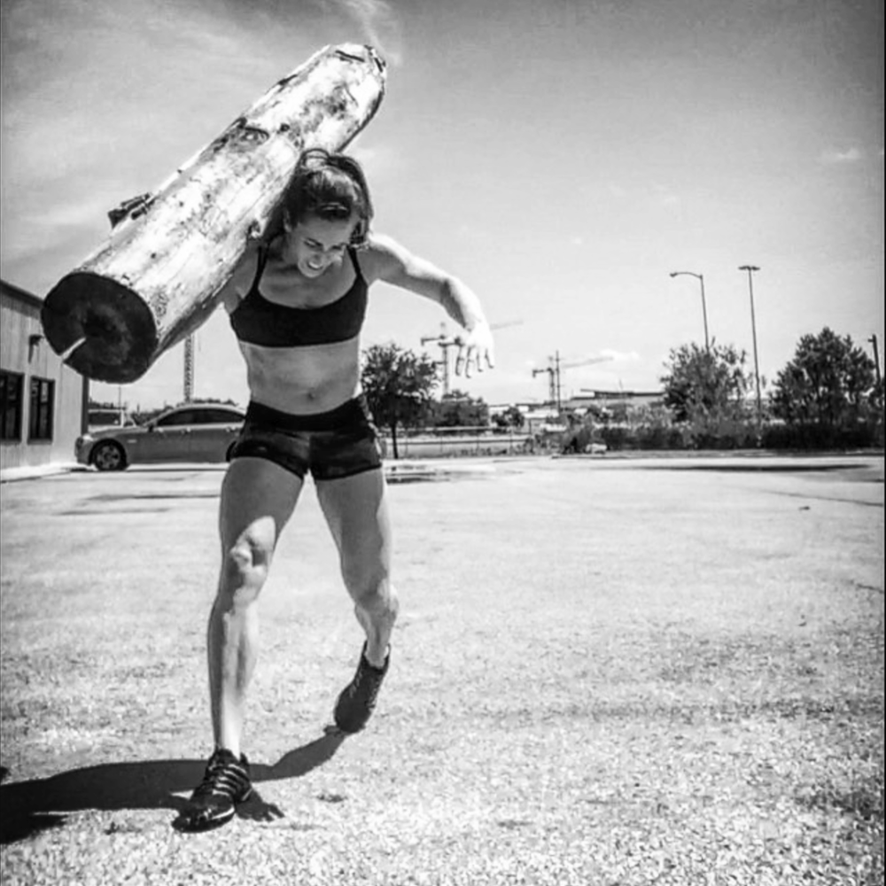 Candice Wagner, 3x CrossFit Games athlete, affiliate owner, USMC Veteran, 5x Broken Skull Champ