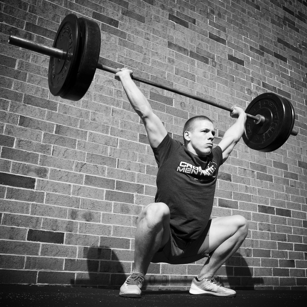 Spencer Panchik, elite CrossFit athlete, (photo courtesy of Dane Gardner)