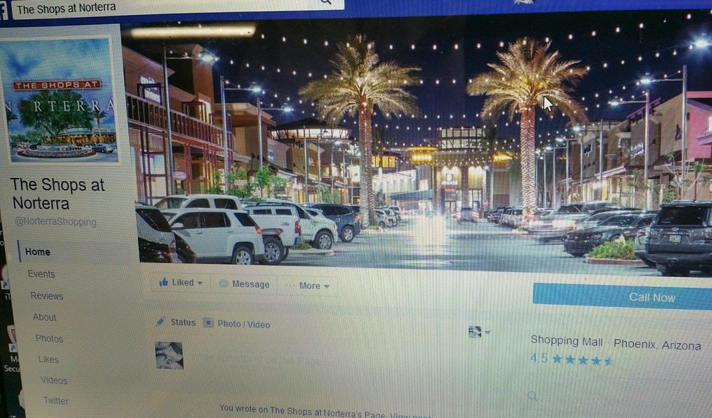 CLICK FOR SHOPS AT NORTERRA FACEBOOK PAGE