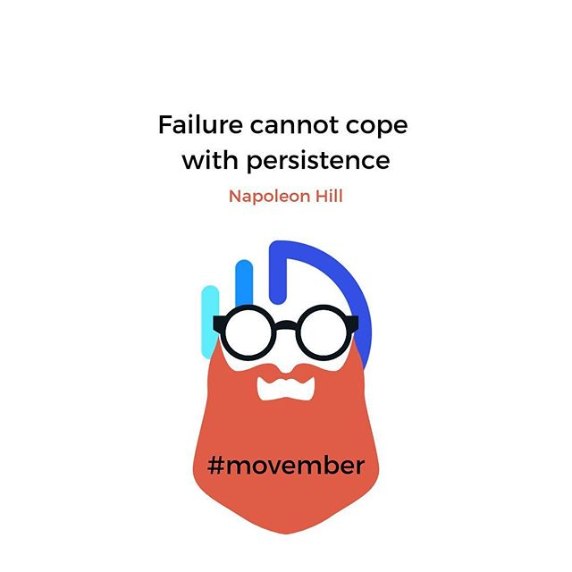 Not only commit to #movember 🧔 Grow your beard and your business with Genwise 📈🔝