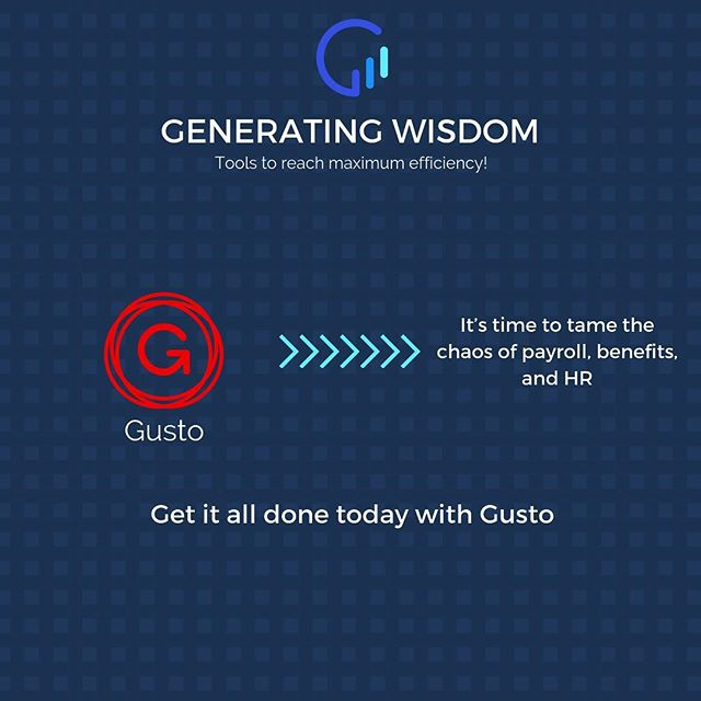 As a business owner, you'll fall in love with @gustohq ❤️ Simplifying you HR needs👌🏽