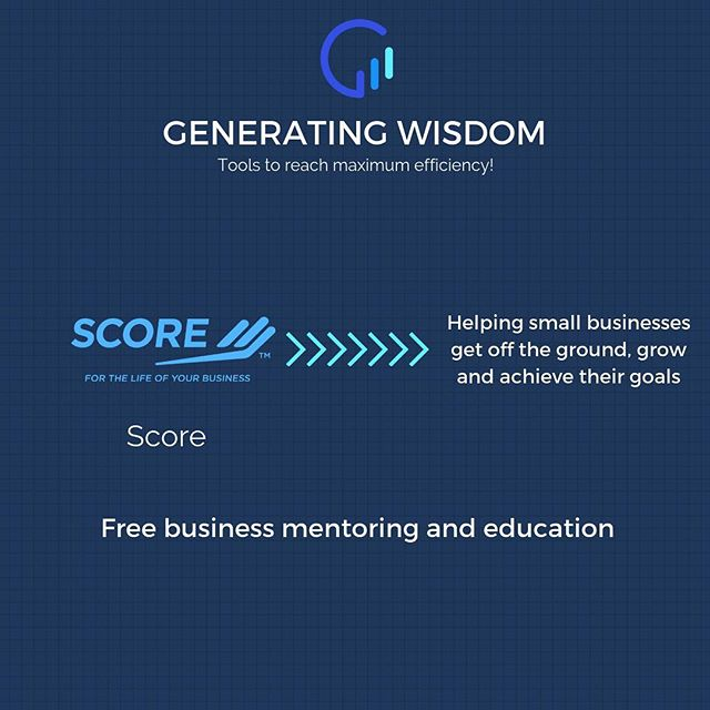 Do you need help growing your business? Find a free mentor with @score_mentors that will help you scale 👌🏽