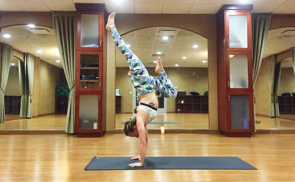 Hand Stand with Leg Variation