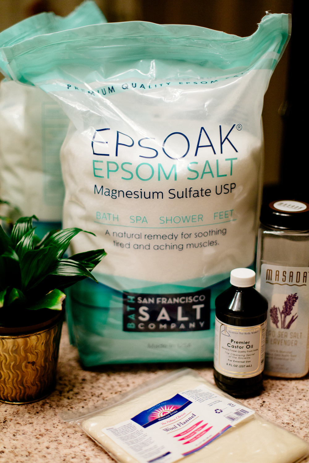 My eco size Epsom Salt, buh-bye sore muscles!