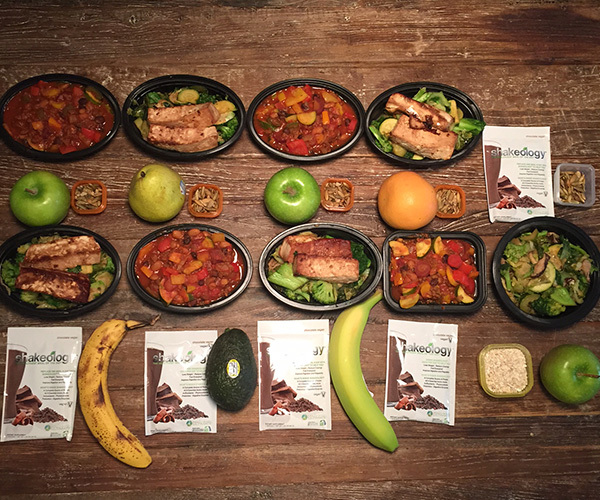 Vegan Meal Plan for the week - Photo by Sarah Kuhns