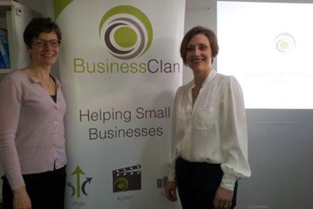 Naomi and Nicolle LinkedIn training course